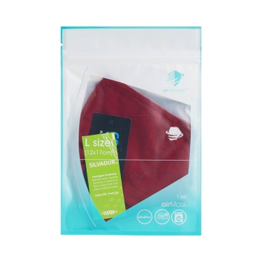 AIRDEFENDER - Airmask Winter Version red L - PC
