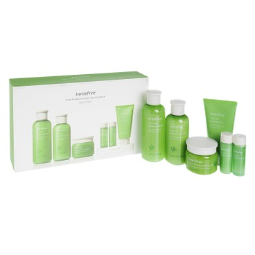 INNISFREE - Green Tea Balancing Skin Care 3 Items Set - SET