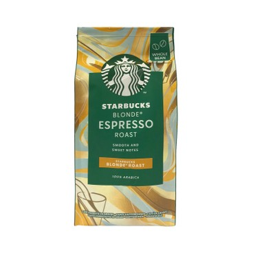 STARBUCKS - Blonde Blend Espresso Coffee Whole Beans - 200G