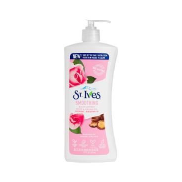 ST. IVES - 玫瑰嫩膚潤膚露 - 621ML