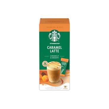STARBUCKS - Caramel Latte Premium Coffee - 4'S