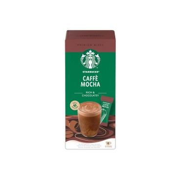 STARBUCKS - Mocha Premium Coffee - 4'S