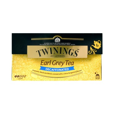 TWININGS - Earl Grey Decaf - 25'S