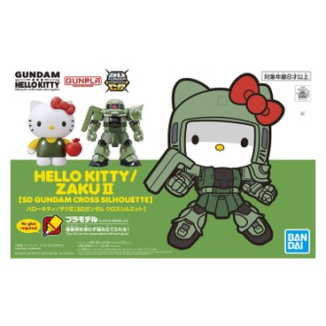 BANDAI - Sdgcs Hello Kitty X Zaku Ii Limited Edition - PC
