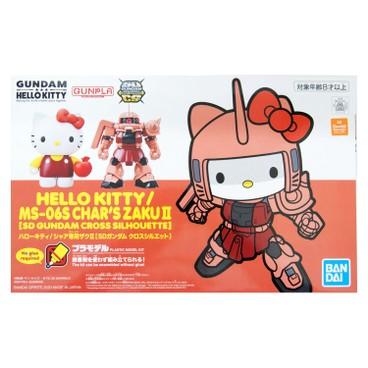 BANDAI - Sdgcs Hello Kitty X Zaku Ii Principality Of Zeon Char - PC