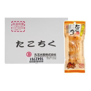 丸玉水產 - 即食章魚竹輪魚條(原盒) - 15'S