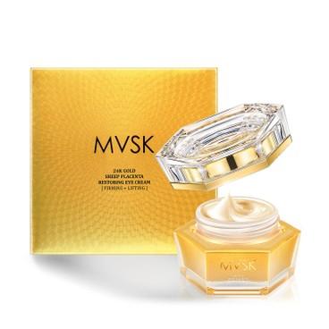 MVSK - 24 k Gold Sheep Placenta Restoring Eye Cream - 25ML