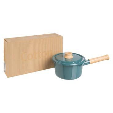 ENAMEL - IH 手柄式湯鍋16CM (粉藍色) (電磁爐適用) - PC