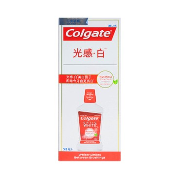 COLGATE - Optic White Mouthwash - 500ML