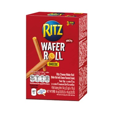 RITZ - Cheese Wafer Roll - 54G