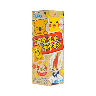 LOTTE - Cheese Cake Koalas March Pokemon Version random Package - 48G