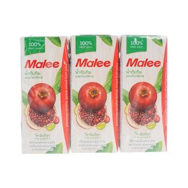 MALEE - 100 Pomegranate Mixed Fruit Juice - 200MLX3