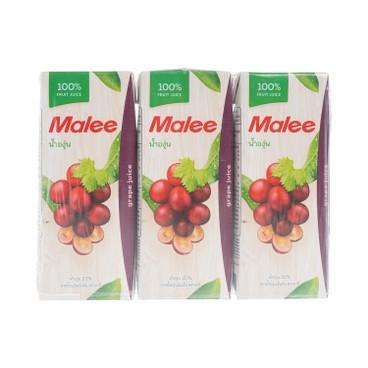 MALEE - 100 Grape Juice - 200MLX3