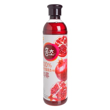 清淨園 - 低糖紅醋 - 紅石榴味 - 900ML
