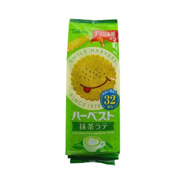 TOHATO - Thin Biscuits matcha - 32'S