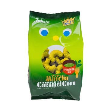 桃哈多 - 焦糖粟米條-抹茶味 - 77G