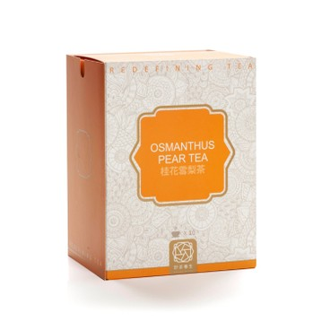 HO CHA - BOX SET TEMPLE TEA BAGS-OSMANTHUS PEAR TEA - 10'S