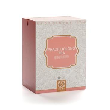 好茶養生 - 盒裝三角茶包-蜜桃烏龍茶 - 10'S