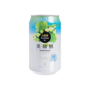 台灣啤酒 - 果微醺啤酒-白葡萄 - 330ML