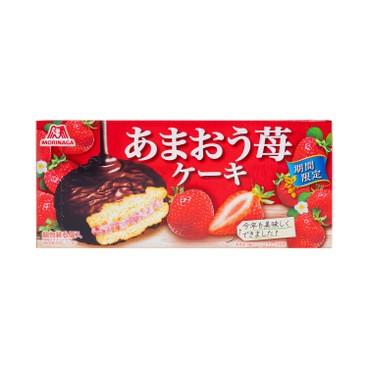 MORINAGA 森永 - 蛋糕-草莓夾心朱古力味 - 200G