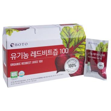 BOTO - 100% 有機紅菜頭汁 - 90MLX30