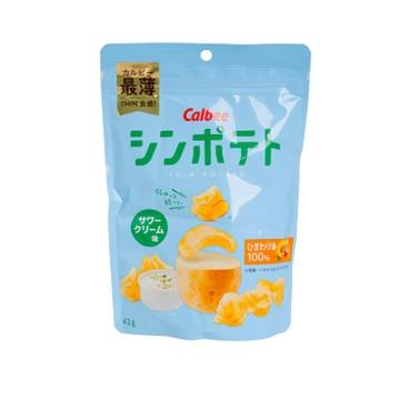 CALBEE - Sour Cream Chips - 42G