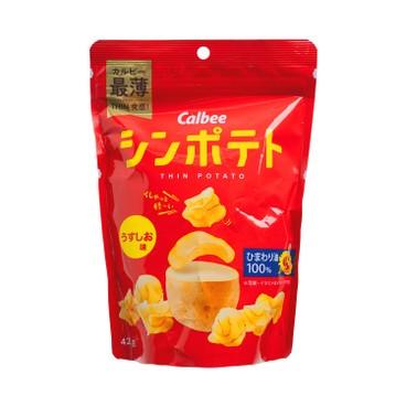 CALBEE - Salt Flavor Chips - 42G