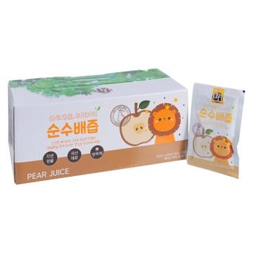 DANDI FOOD - Pure Pear Juice - 80MLX30