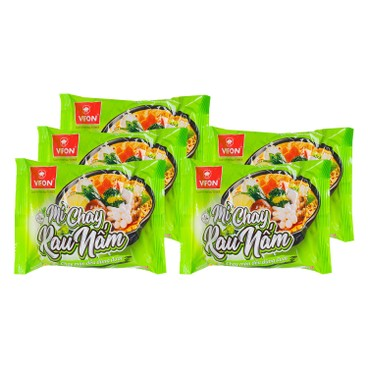 VIFON - 即食麵-蔬菜冬菇味 - 60GX5