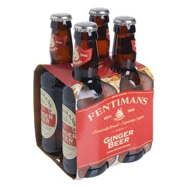 FENTIMANS - 英式經典薑啤 - 200MLX4