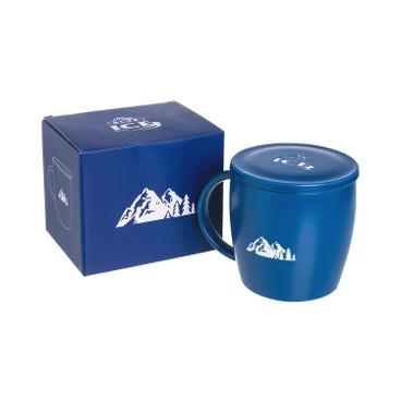 BLUE ICE - Ceramic Mug With Lid - PC