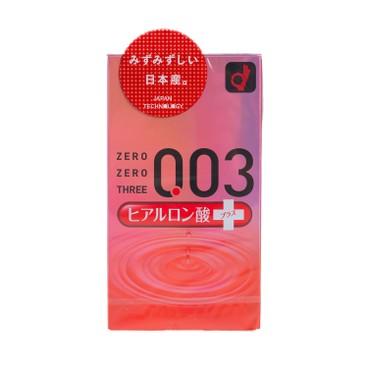 OKAMOTO - 0.03 HYALURONIC ACID CONDOM - 10'S