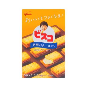 固力果 - BISUCO夾心餅乾-乳酸菌牛油味 - 5'S X3