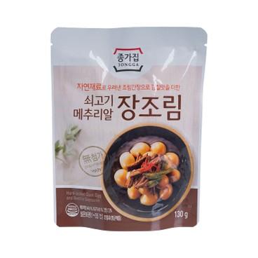 宗家府 - 醬煮肉絲鵪鶉蛋 - 130G