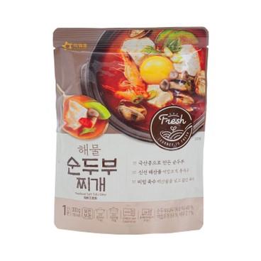 OURHOME - 辣嫩豆腐海鮮湯 - 300G