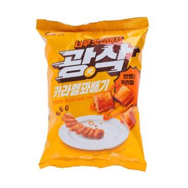 CW - New Gwang Sak Caramel Twisted Doughnut - 72G