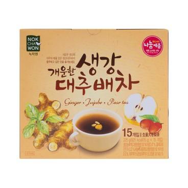 NOKCHAWON - Ginger Jujube Pear Tea - 15GX15
