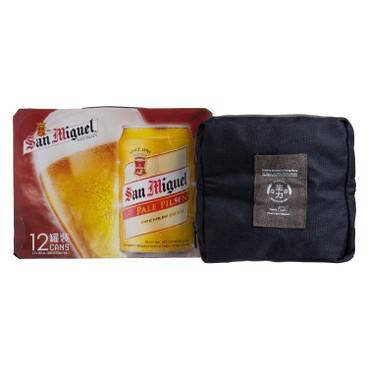 生力 - 啤酒 (喜慶罐連雙層玻璃樽) - 330MLX12