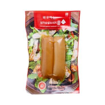 ACHIM - Ready To Eat Chicken Sausage Hot Pepper - 100G