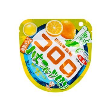 UHA - CORORO樹上熟成檸檬味果汁糖(期間限定) - 40G