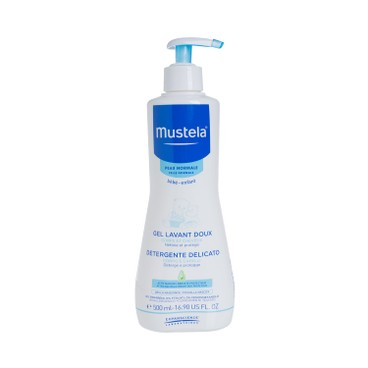 MUSTELA(PARALLEL IMPORT) - Gentle Cleansing Gel For Hair Body - 500ML