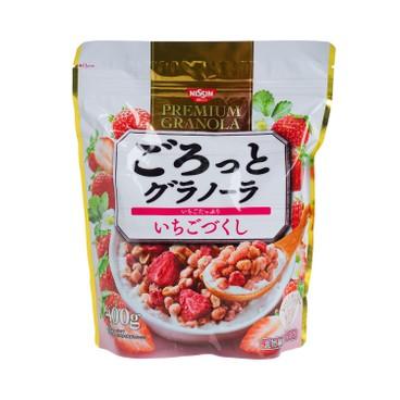 日清 - 早餐麥片穀物-草莓果實 - 400G