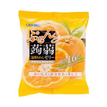 ORIHIRO - 蒟蒻啫喱-溫州橙味 - 120G