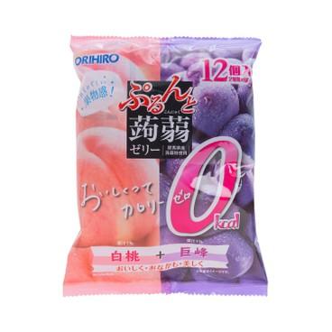 ORIHIRO - 蜜桃巨峰果凍 (0卡路里) - 216G