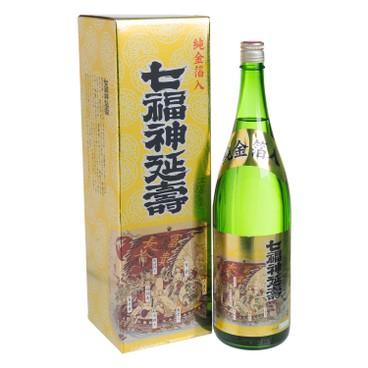 MORITA - Sake Shitifukujin Enjyu With Pure Gold Leaf - 1.8L