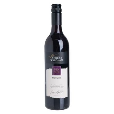 GEORGE WYNDHAM - Red Wine Bin 999 Merlot - 750ML
