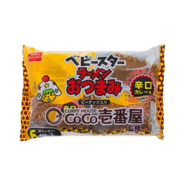 BABY STAR - Ramen Otsumami Cococurry Spicy Curry Flavor - 138G