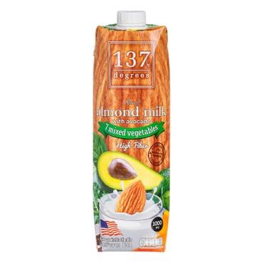 137 DEGREES - 杏仁奶-牛油果 - 1L