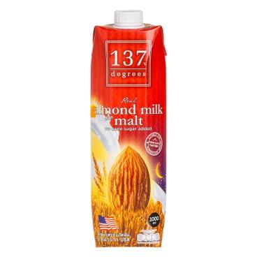 137 DEGREES - 杏仁奶-麥芽 - 1L