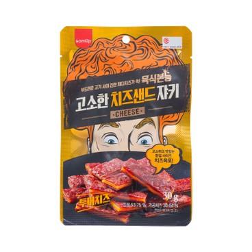 SAMLIP - 香烤牛肉乾-芝士味 - 30G